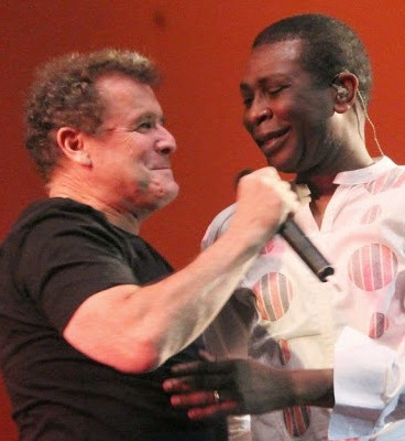 Clegg and Youssou
